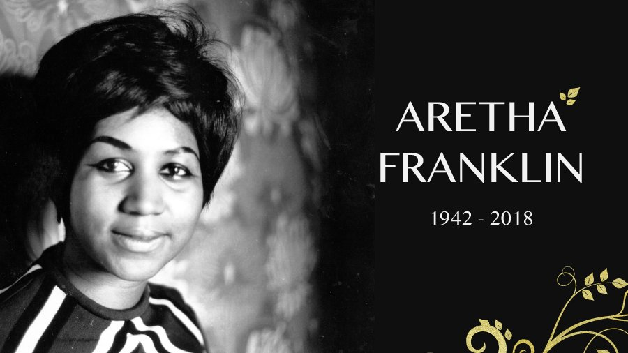 Aretha Franklin, the Queen of Soul, has died. https://t.co/vFhM4ezKIZ
