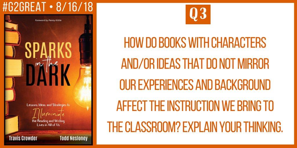 Q3 #G2Great @brennanamy @DrMaryHoward @franmcveigh @TechNinjaTodd @teachermantrav @burgessdave