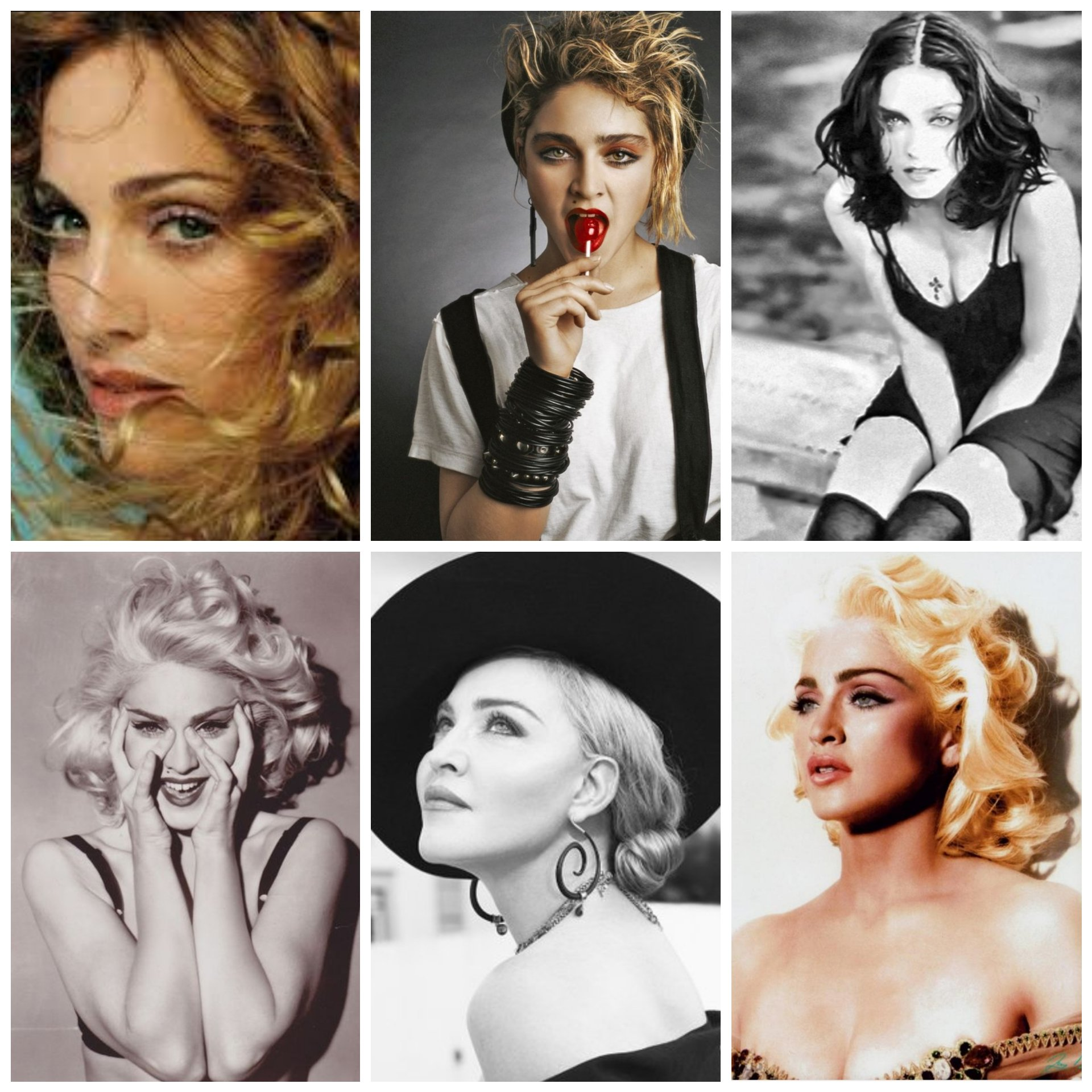 Happy 60th birthday, Madonna! Thanks for all the incredible music and constant inspiration