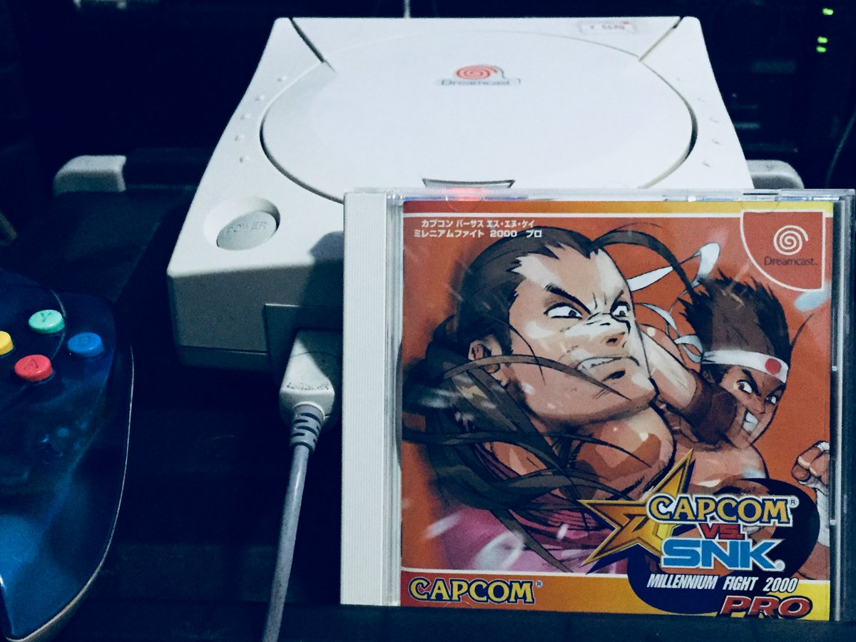 #ItsThinkingThursdays &amp; it&#39;s upgrading to 2K PRO with an updated version of the original #Capcom vs. #SNK, which was released on the #Arcade #Sega NAOMI &amp; #Dreamcast n #PS2 to follow. DC being the most faithful port.  #Retrogaming #GamersUnite #StreetFighter #FightingGames<br>http://pic.twitter.com/bdwdPX41WI