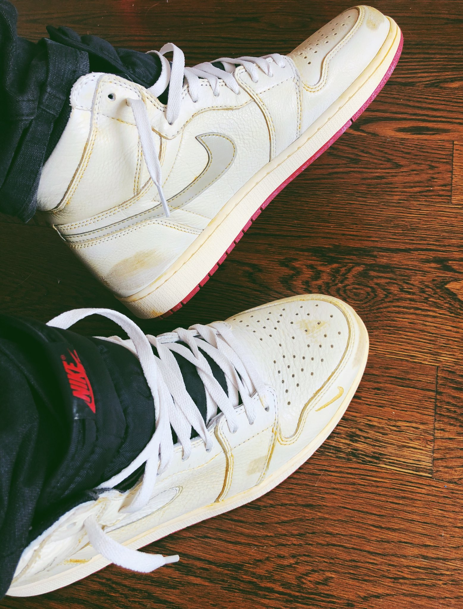watch d8796 6eeda Nigel Sylvester x Air Jordan 1 High OG Thread | Page 2 ...