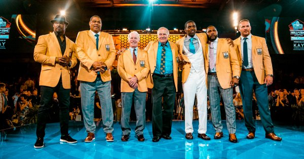 Relive the Class of 2018 Enshrinement Ceremony! #PFHOF18  Watch each speech: https://t.co/mNmSEmSK7Z