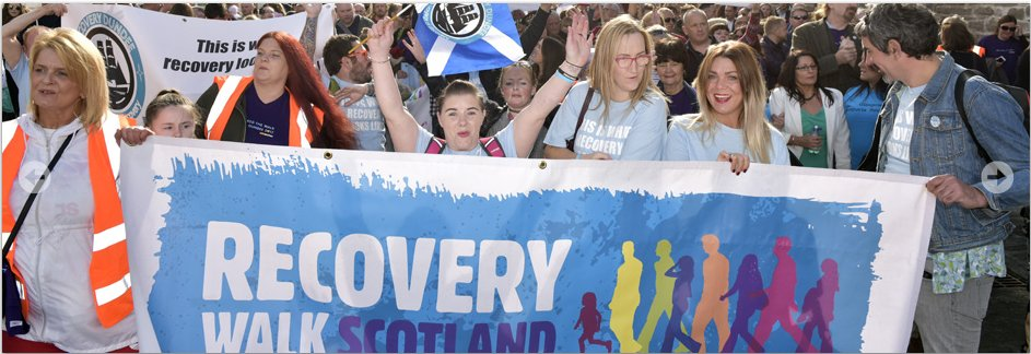 Hi folks, registration is open for Recovery Walk 2018 in #Glasgow on Sat 15 Sept! Everyone is welcome; people in #recovery, friends, families, treatment providers, supporters &amp; dogs! @FDAMH @MHScot_Consult @MindspacePK @PathsforAll @TheatreNemo<br>http://pic.twitter.com/O48yihG4MW