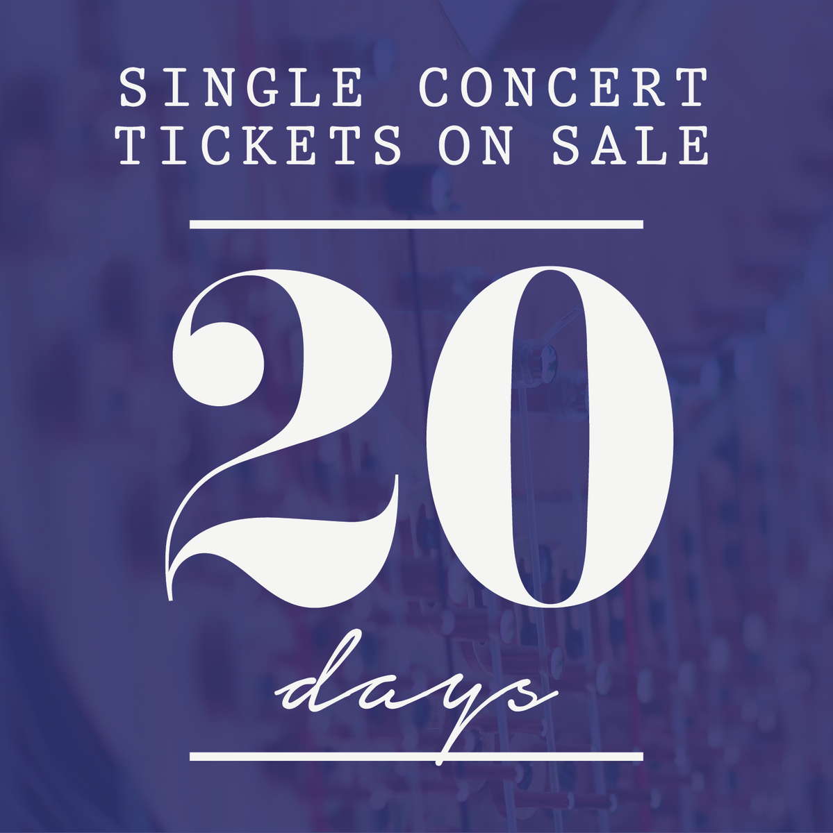 Single-Concert Tickets go on sale SEPTEMBER 4. That means you have 20 days to lock down your favorite season tickets - or 20 days left to wait before you can start planning your ideal date night! #waco #music #classicalmusic<br>http://pic.twitter.com/DcYgd0jfTM