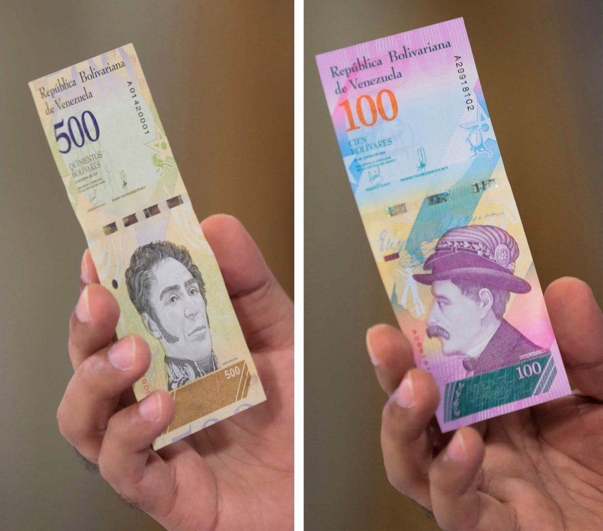 Inflation could hit 1,000,000% in Venezuela - so it&#39;s slashed five zeros from its currency  https:// wef.ch/2LwiWaa  &nbsp;   #economics<br>http://pic.twitter.com/adozkbyksk