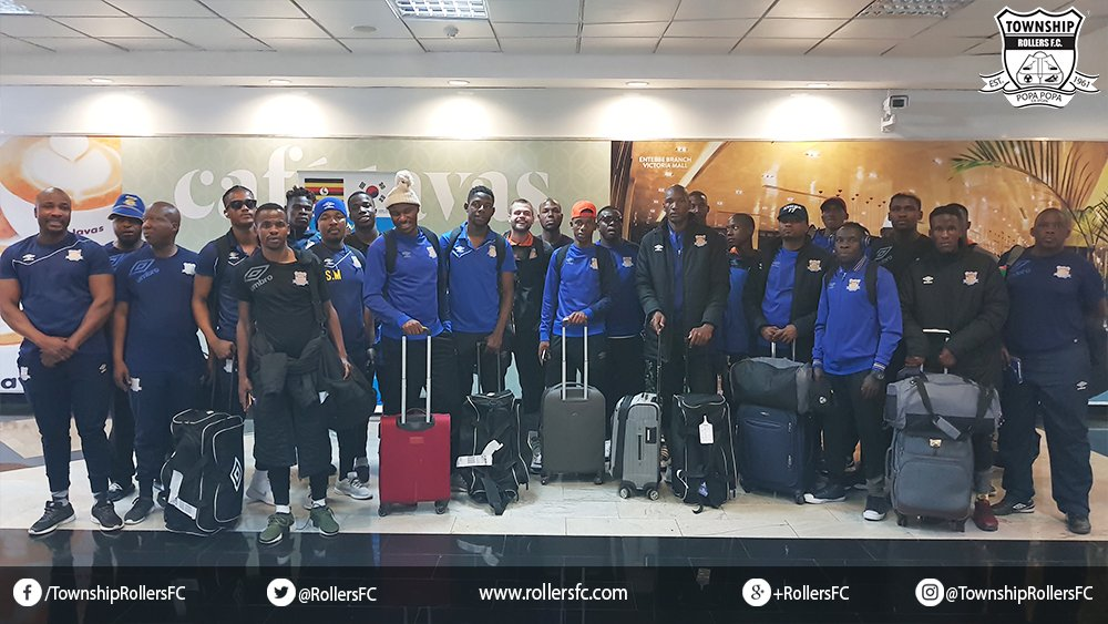 We have safely arrived in Kampala, Uganda in preparations of our CAF Champions League game against Kampala Capital City Authority on 18th Aug, 2018.   http:// rollersfc.com  &nbsp;   #BlueArmy<br>http://pic.twitter.com/oknWvWNerP