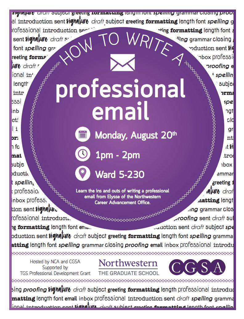 Northwestern Cgsa On Twitter Ready To Reach Out To Potential