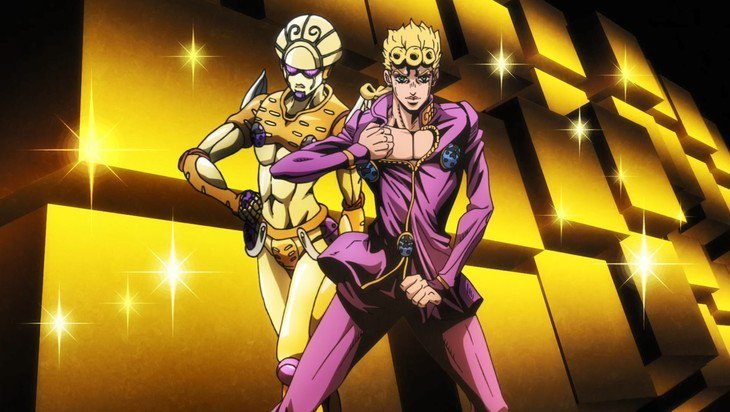 View Giorno And Gold Experience Anime Pics