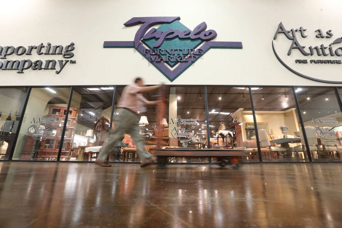 The Summer Tupelo Furniture Market Is Underway, With Hundreds Of Exhibitors  Selling Furniture, Home Decor, Accessories, Bedding And Other Related ...
