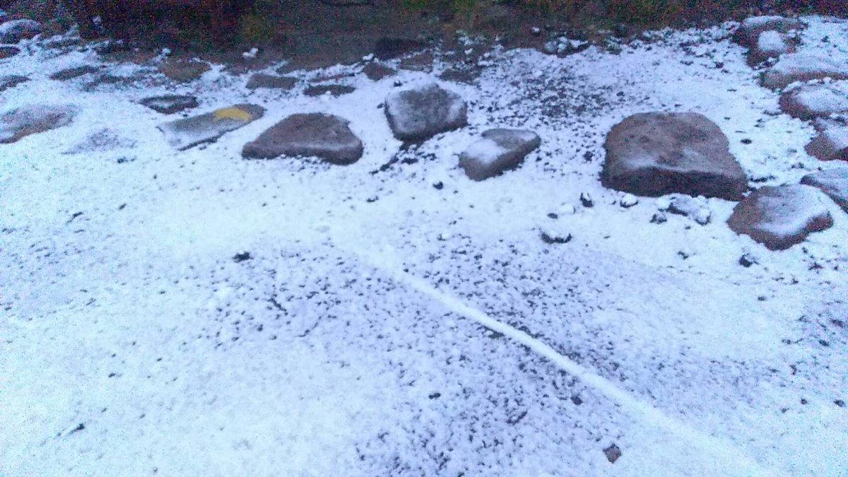 えっ!?まだ夏だよねww北海道では初雪が観測されたんですって!!