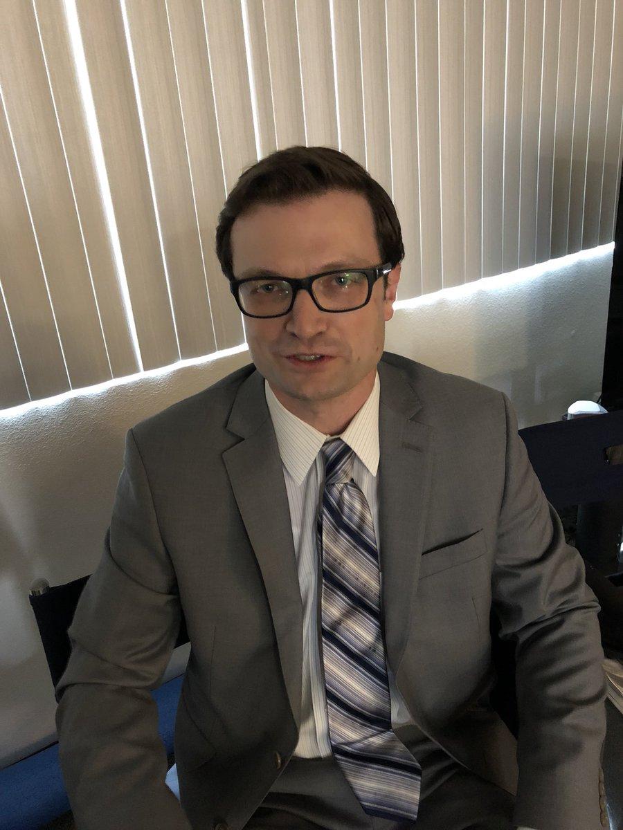 I am working with @AllenRueckert, who is @JamesUrbaniak's PERFECT DOPPLEGANGER.