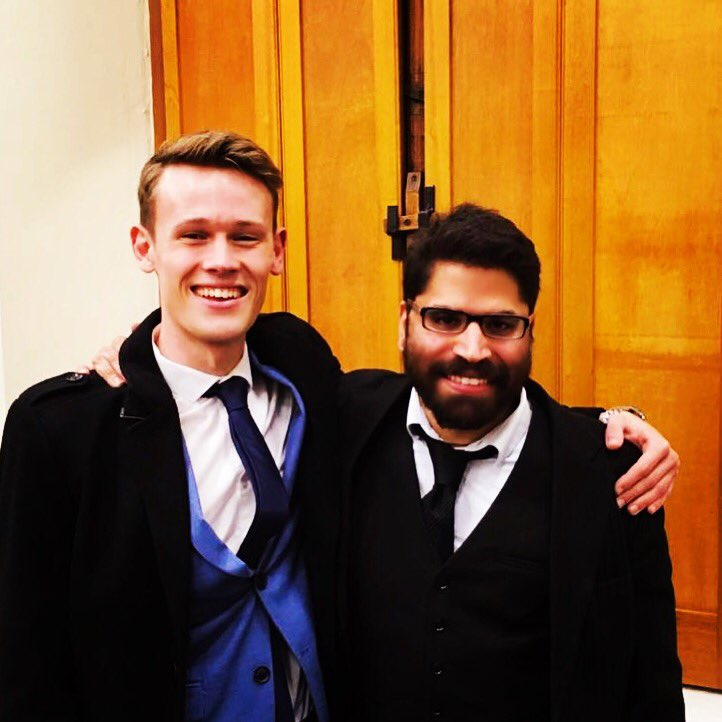 Well done @tauriqmoosa and Aran Brouwer for successfully convicting a (fake) multiple murderer in their first ever mock trial at Stellenbosch University. The NPA needs to take note of this potential!