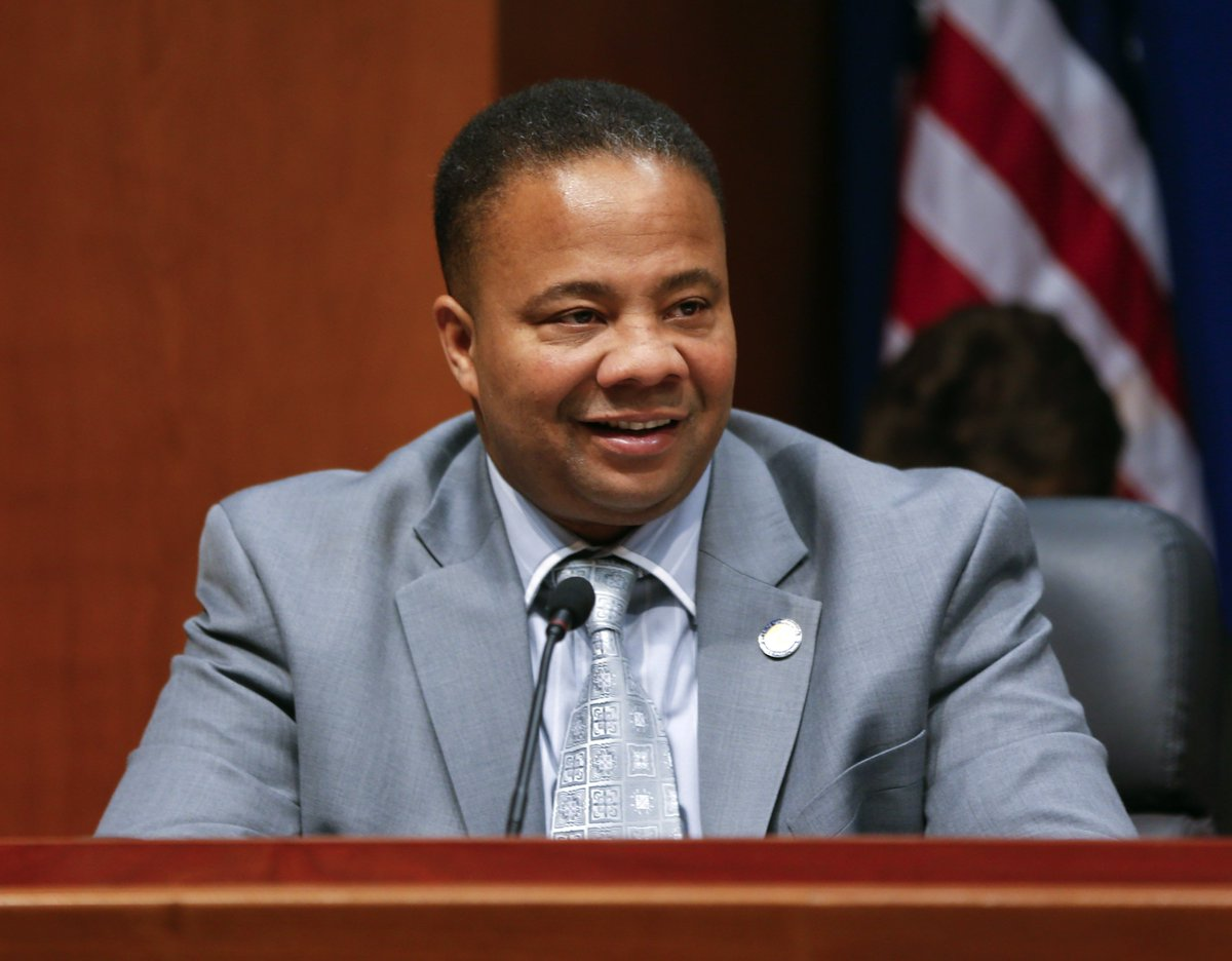 New York state Senator Jesse Hamilton says a woman called the cops on him for handing out fliers in his own district. Now he's introduced a bill that would criminalize calling 911 on people of color with a false report of a crime.