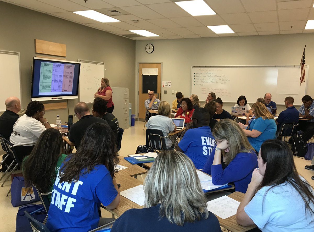 Such a great day for APS Math at Administrative Conference today! A packed house to learn more about Math Workshop and some interesting thinking about number sense routines. <a target='_blank' href='https://t.co/fRw14F3R5T'>https://t.co/fRw14F3R5T</a>