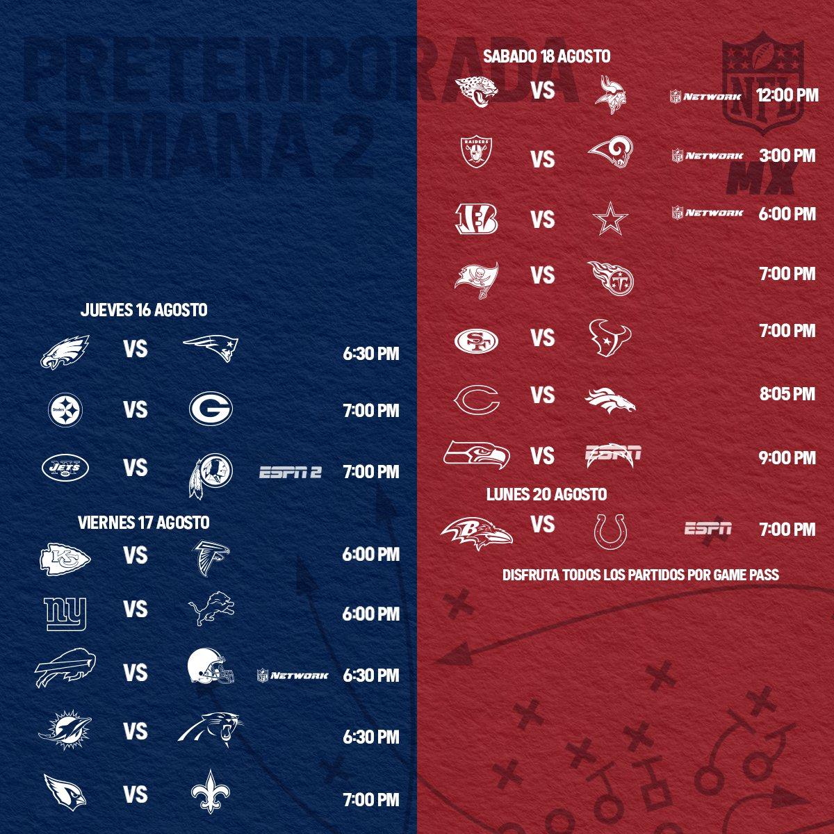 NFL México's photo on #nflpreseason