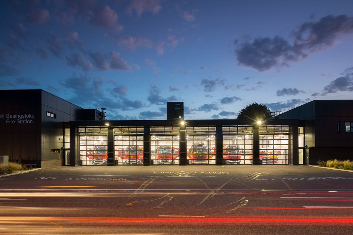 Really Enjoyed Photographing The New And Excellently Designed Basingstoke  Fire Station For @HCC_Architects @HCC_Interiors Recently.