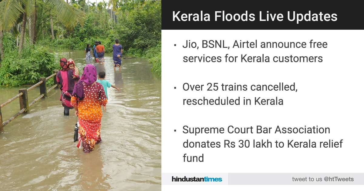 #KeralaFloods | Death toll at 114; state will have to reconstruct from scratch, says CM  Follow Live updates here: https://t.co/R8SMs78rEs