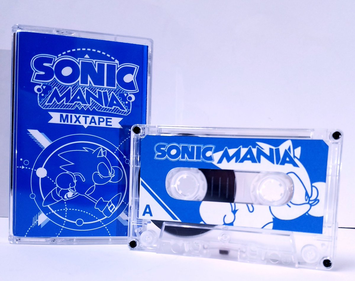 Sega did some great &#39;90s-inspired marketing for Sonic Mania but I thought one thing was missing.   And what was missing is a Sonic Mania Mixtape! Ready for your Walkman or Boombox.  Took a page out of what Sega Forever did for their promotion so I went ahead and did this. <br>http://pic.twitter.com/RBhFiMn6my