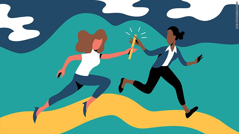 Female CEOs are rare. Two in a row at the same company is (almost) unheard of https://t.co/tiUC6p8uT5