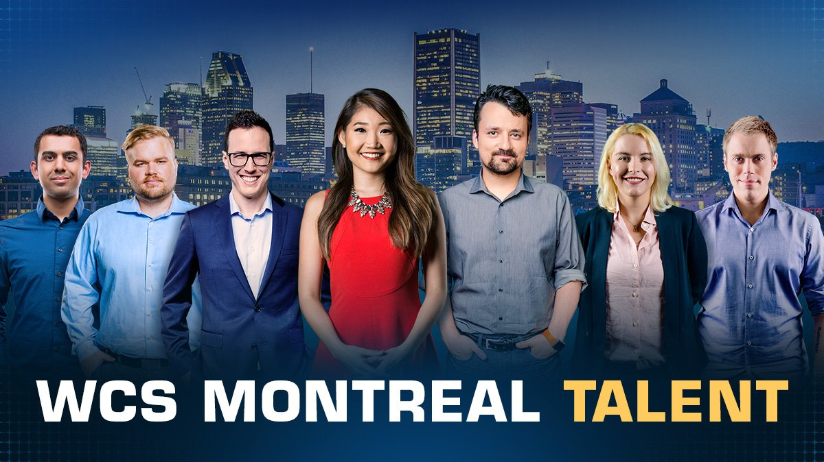 WCS Montreal 2018 staff