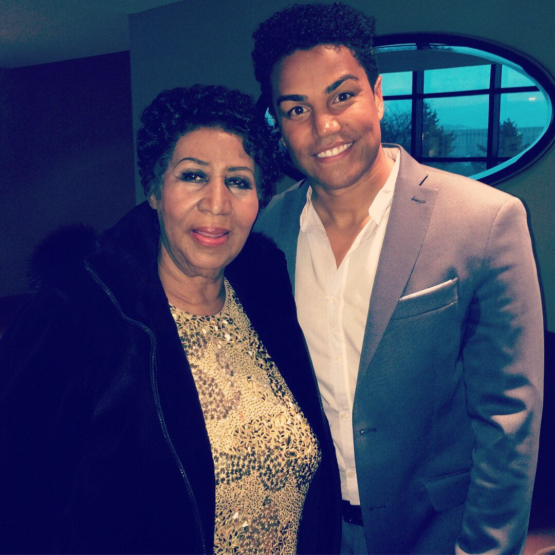 I will forever remember my amazing time with you. Your temperament and character was of love, strength and pure beauty. Sending your family love and prayers as they get through this difficult time. RIP to the one and only Queen of Soul Aretha Franklin. 🙏🏽❤️ #legend #rip