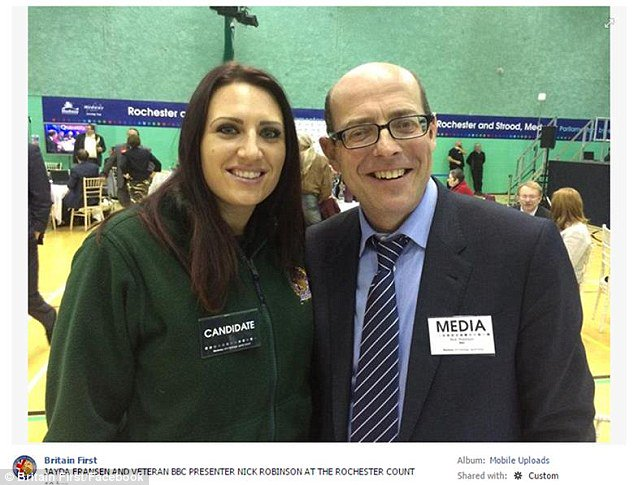 Seems she&#39;s not very well known to other leading political correspondents at the BBC as well. Strange that. This one claimed he also &quot;didn&#39;t know who she was&quot; and was just &quot;posing for a selfie&quot; <br>http://pic.twitter.com/1rEOLrRDn2