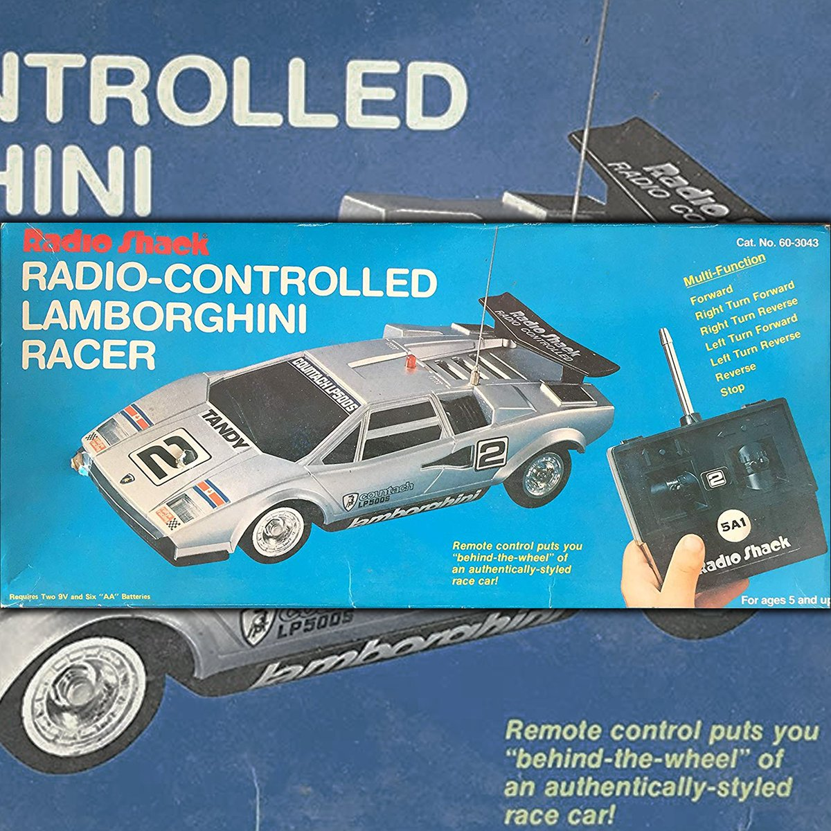 Radioshack Twitter Being In To Radio Control Since The Mid 70 S Countach Lp500s Was Roadster Have Back 1970s It Came Multiple Colors Featured Working Headlights Full Function Controls