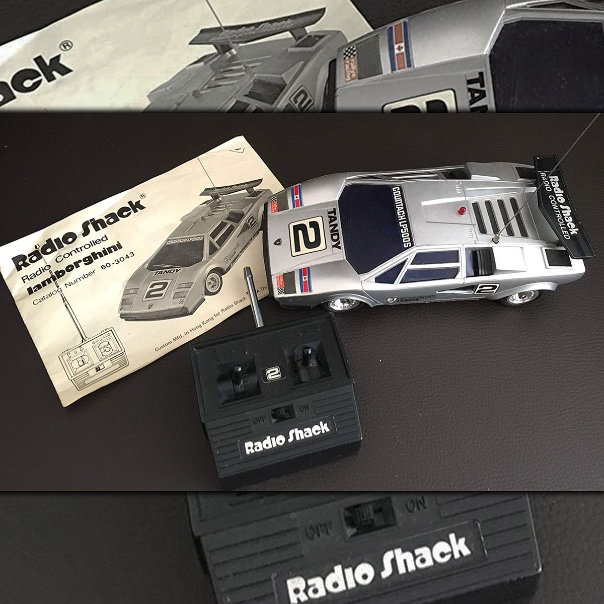 Radioshack On Twitter The Tandy Lamborghini Countach Lp500s Was