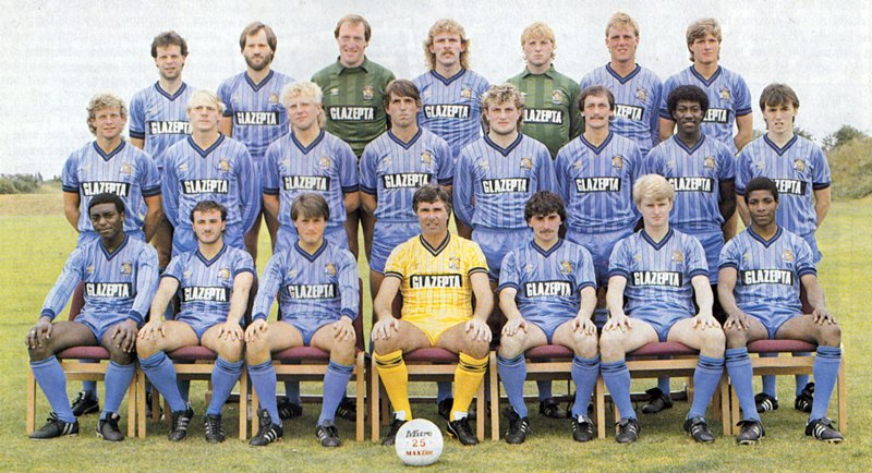 Well done to Steve Ogrizovic for appearing in over 30 years of @Coventry_City team photo&#39;s here&#39;s just 4 ,1984,1990,2008,2018<br>http://pic.twitter.com/n4Zh31fVIS