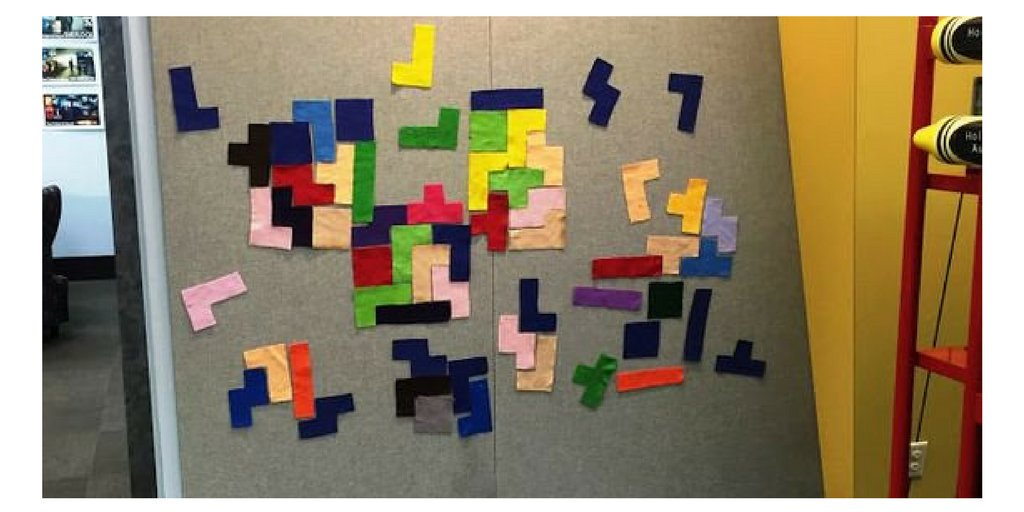 This Felt Tetris idea is awesome! Does anyone have anything like this in their makerspace? #MakerEd #TLChat<br>http://pic.twitter.com/0jZ2Mri05F