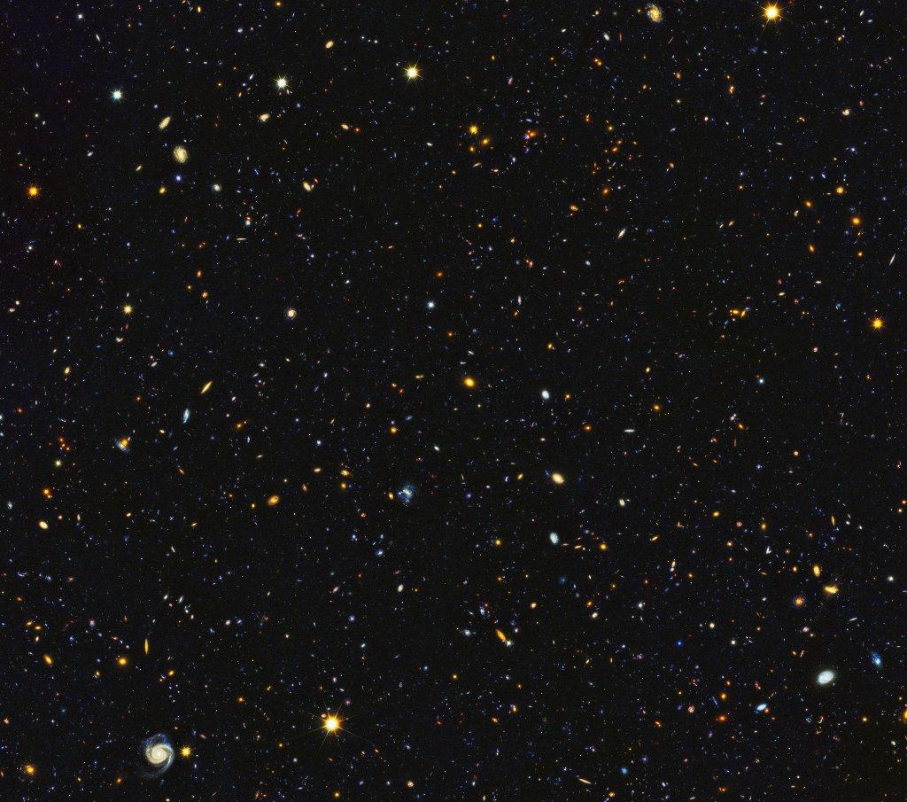 'Hubble' toma fotografía del universo en evolución