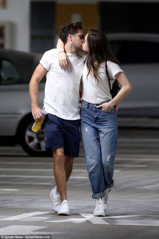 📸| Nuevas fotos de Niall y Hailee.👀 ©️@SplashNews