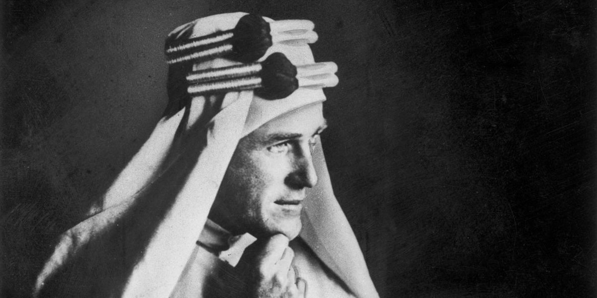 T.E. Lawrence, better known as Lawrence of Arabia, was born #OnThisDay in 1888. eb.com/biography/T-E-…