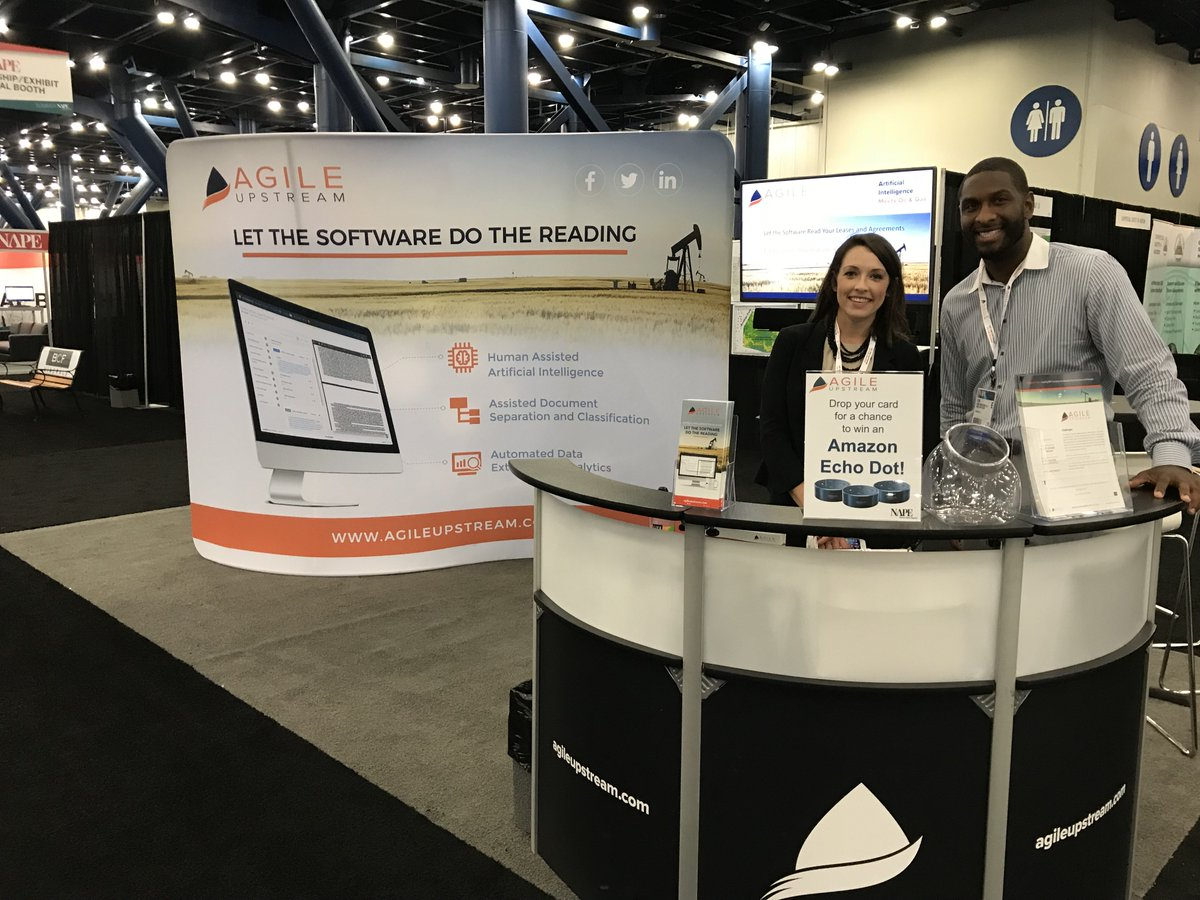 See a quick demo! Day 2 at @NAPE_Expo Summer2018! Visit the smiling faces in booth #1331 - on the Main Aisle!  #artifcialintelligence #ALI #oilandgas #wheredealshappen<br>http://pic.twitter.com/7TXpKll6yc