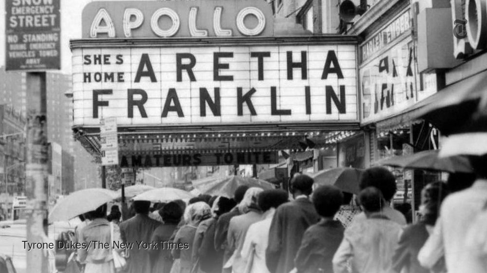 "'She is the reason why women want to sing."" A look at Aretha Franklin's life. nyti.ms/2PeWDUz"
