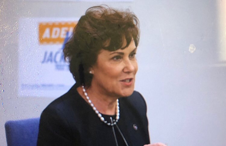 Today I sat down with #Nevada Congresswoman @RepJackyRosen, who's vying to unseat U.S. Sen. @DeanHeller, to discuss hot topics like health care, taxes, immigration, gun control and more. Look for @reviewjournal story soon.<br>http://pic.twitter.com/R4GYOSHf5c