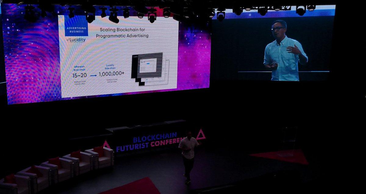WOW! Digital ad industry is $225 billion a year & a staggering $17 billion is fraud: Luciditys COO #FUTURIST18 #Advertising #DigitalMarketing