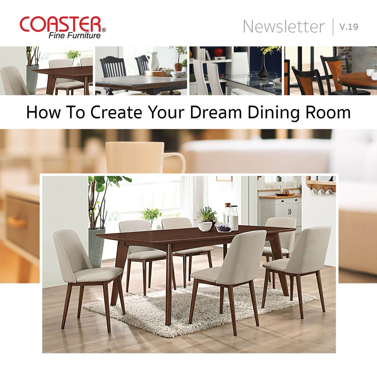 Coaster Fine Furniture Dining Table