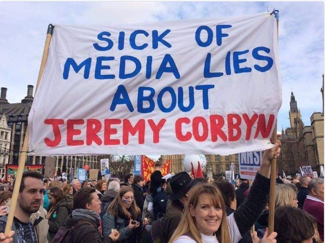 When we check the facts, it is apparent that the BBC is malfunctioning, it  reports news &amp; politics based on smears &amp; lies, which is detrimental to democracy in the UK. There is a lack of proper,objective, discussion of policies. I therefore support #BBCswitchoff<br>http://pic.twitter.com/wFUrQIOCxM