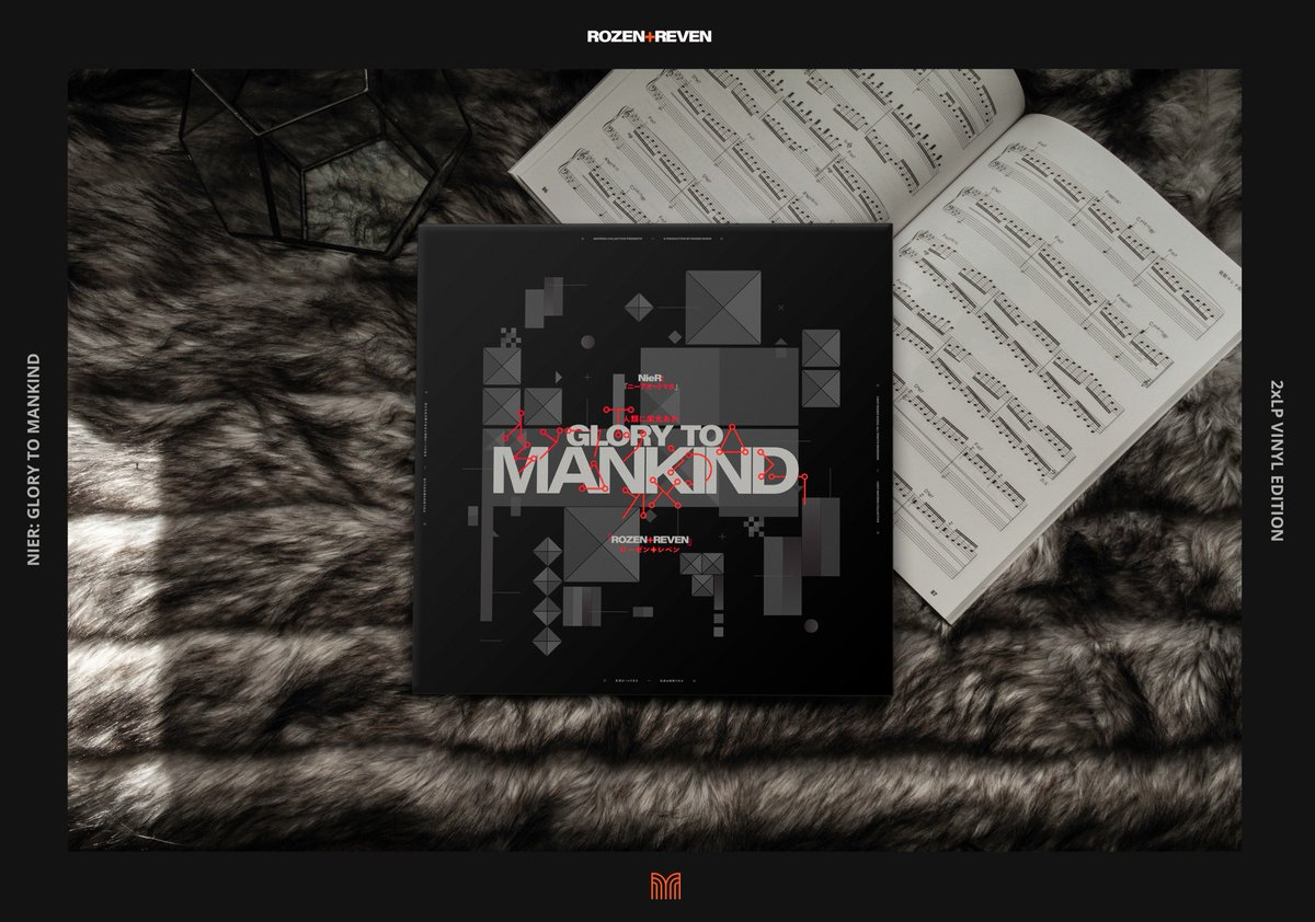 I&#39;m proud to announce that NieR: Glory to Mankind will be available in 2xLP Silver Colored Vinyl. And the best thing is, you don&#39;t have to wait for it: it&#39;s available and in stock today!  https:// rozn.bandcamp.com/album/nier-glo ry-to-mankind &nbsp; …  @Revensings @MateriaColl #nierautomata #nier #vinyl #vinylrecords <br>http://pic.twitter.com/s50lughr5i