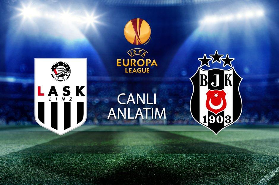 ��️��LASK Linz-Beşiktaş maçı başladı CANLI ANLATIM�� ����https://t.co/cAx29WUKaI https://t.co/ggqcmDPjGp
