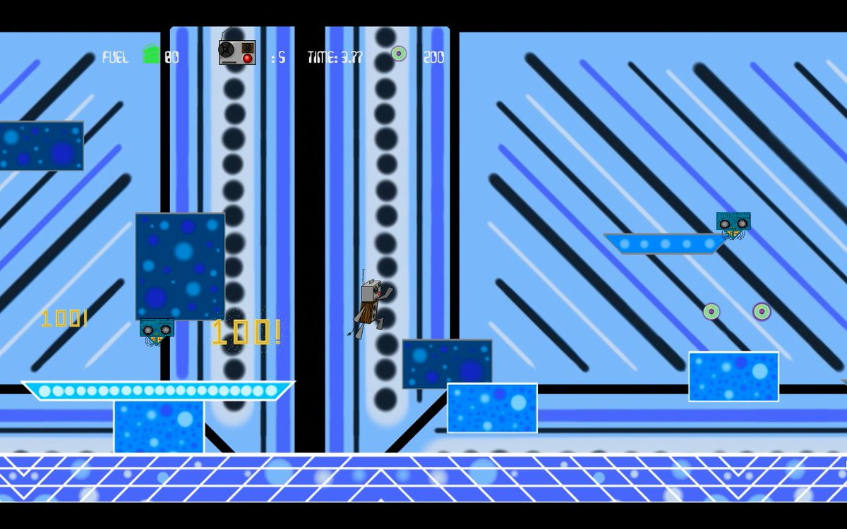 Very old Boogie Bot screen shot for #throwbackthursday compared to the newer version of the level. #unity #unity3d #indie #indiegame #indiegames #indiedev #indiegamedev #gamedev #game #games #videogames #boogiebot #fromtheendgames<br>http://pic.twitter.com/y4DUQSiPEO