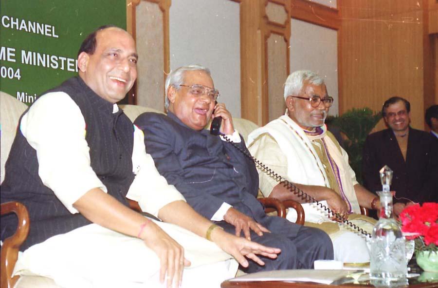 Keshubhai remembers Atalji's invaluable contribution in Narmada project