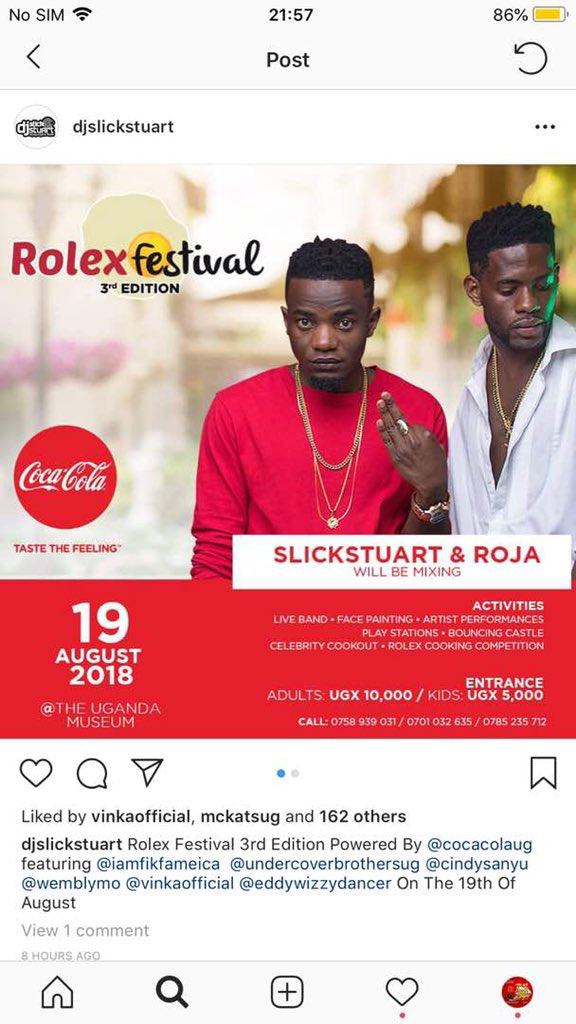 Why miss if this turntable assassin is mixing I will be there common sense #RolexFestival18 @RojaDj @djSlickStuart<br>http://pic.twitter.com/SgpBcsa1sp