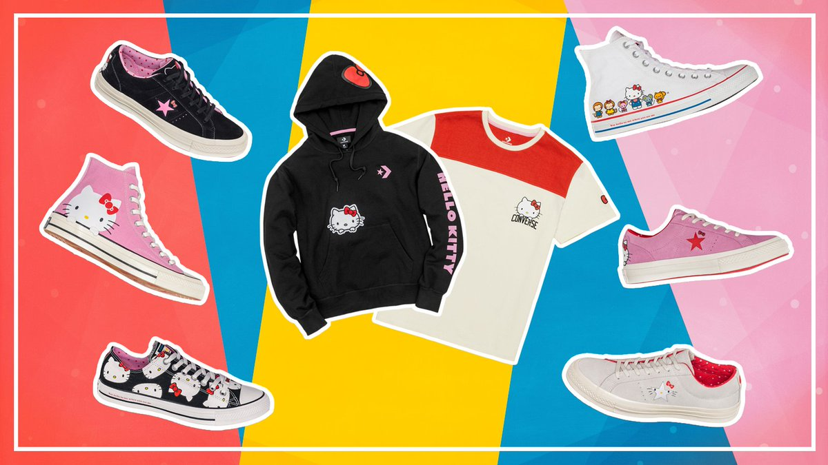 5dfa9b70f9ad36 converse just released a brand new hello kitty collection and we re paw  sitively in love