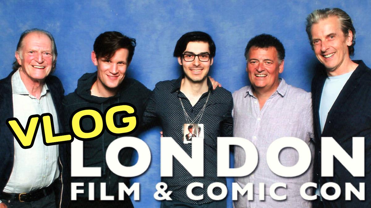 LONDON FILM &amp; COMIC CON 2018 Vlog: Meeting Tom Baker, David Bradley, Steven Moffat, Paul McGann, @NoelClarke, #TomWelling, John Schneider, Katie Leung &amp; more!   https:// youtu.be/pwTakDPKVZo  &nbsp;     #DoctorWho #londonfilmandcomiccon #LFCC #lfcc2018 #smallville #HarryPotter #ComicCon2018<br>http://pic.twitter.com/vWbfxKcLOM