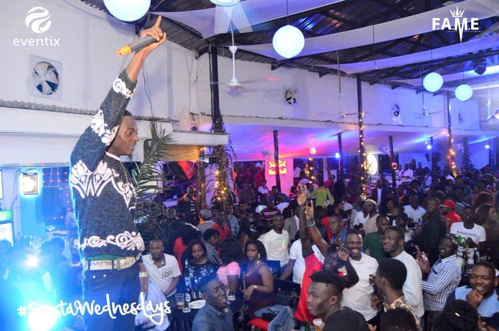 It's always massive every Wednesday @fame_kampala #SiestaWednesdays  Cc @AllanToniks @BebeCoolUG @Kalifah_Aganaga<br>http://pic.twitter.com/gZZ6KOMyKJ