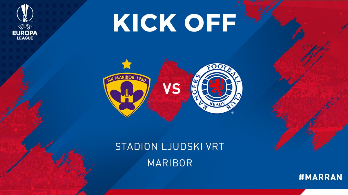 KICK OFF!   We&#39;re underway in Slovenia as Zahović and Tavares take centre.  COME ON THE FAMOUS GLASGOW #RANGERSFC   <br>http://pic.twitter.com/tng5HofRWV