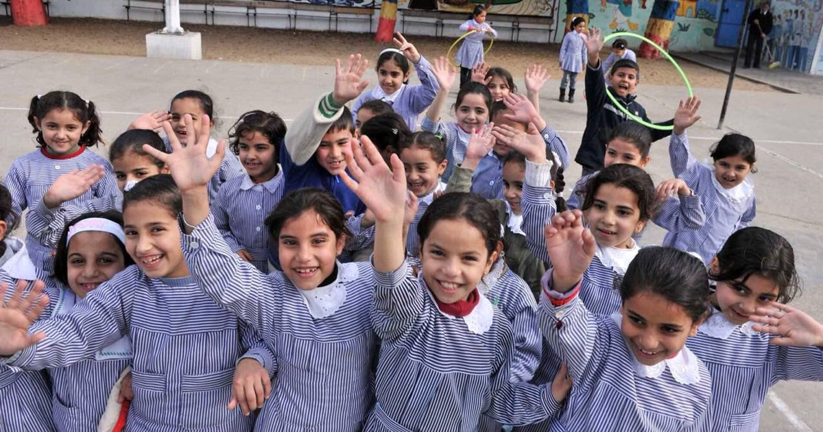 Today I announced that schools will open on time for 526'000 Palestine refugee girls & boys in West Bank, including East Jerusalem, Gaza, Jordan, Lebanon & Syria. Despite our grave financial challenges, it is vital to protect the right to education of @UNRWA students.