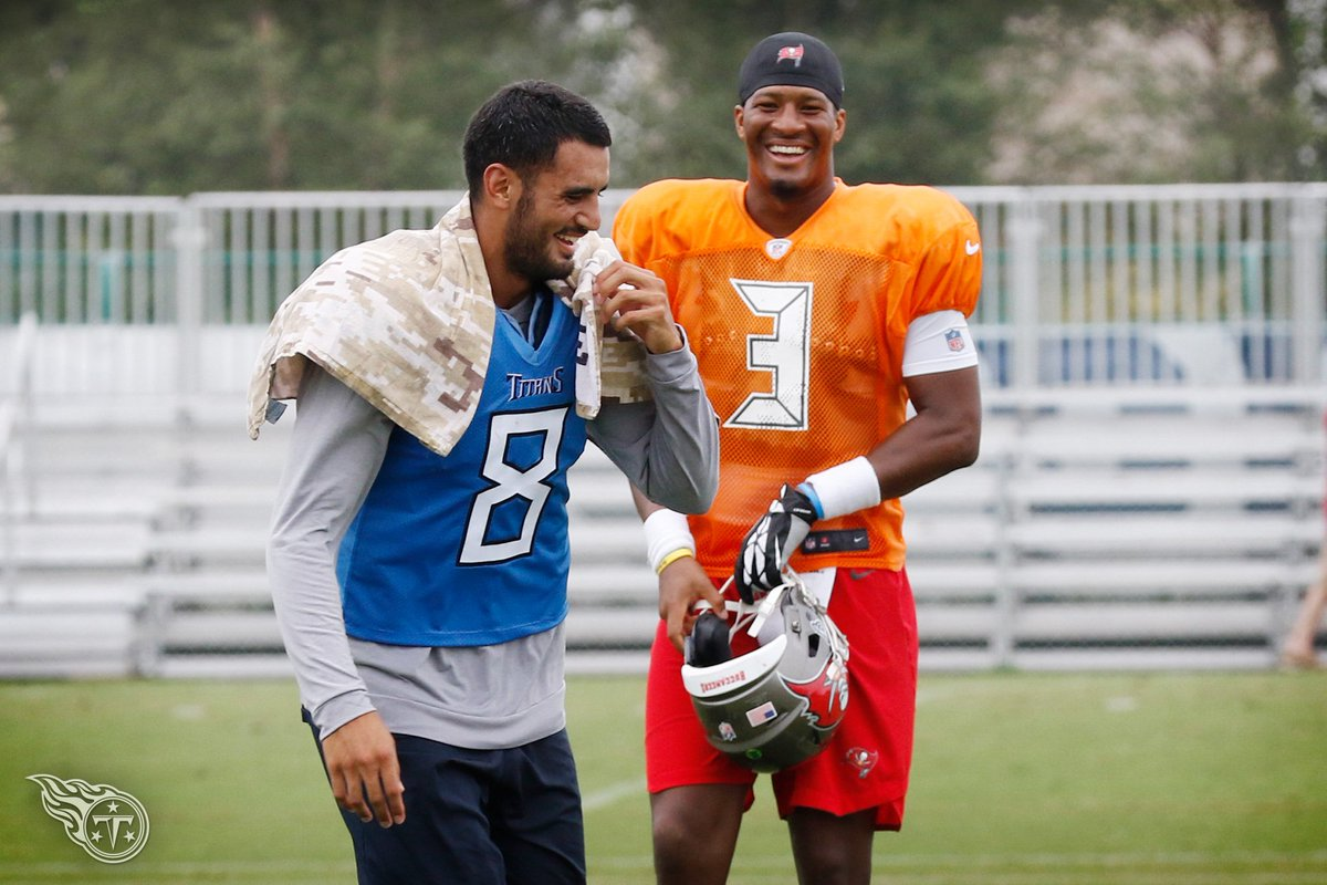 What's so funny? 🤔😋 Thursday Practice 📸 » titanup.co/eFDIL1